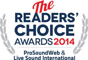2014 ProSoundWeb Readers' Choice Awards
