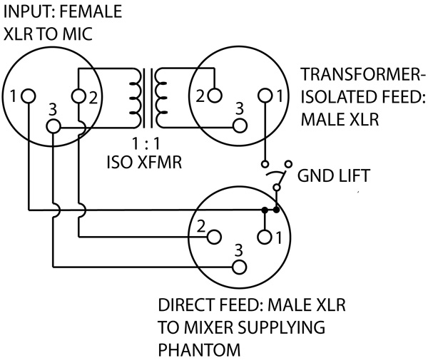 ghost in the machine phantom power page 3 of 3 prosoundweb rh prosoundweb com XLR Cable Wiring Diagram XLR Cable Wiring Diagram