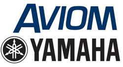 aviom yamaha logos