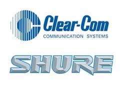 clear-com shure