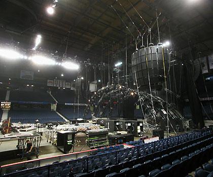 Electro-Voice X-Array sur la dernière tournée mondiale de AC/DC.