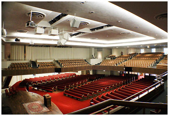 Trinity Baptist Church In San Antonio Upgrades With Eaw Qx