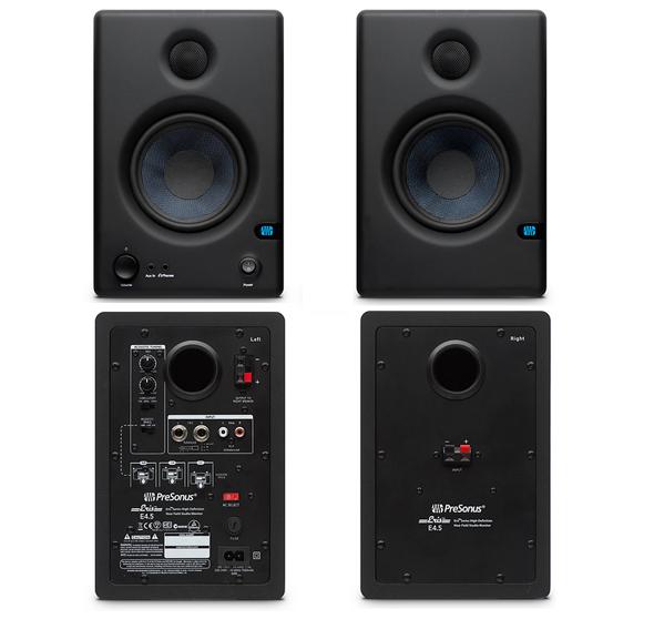 presonus now shipping new compact eris e4 5 studio monitors prosoundweb. Black Bedroom Furniture Sets. Home Design Ideas