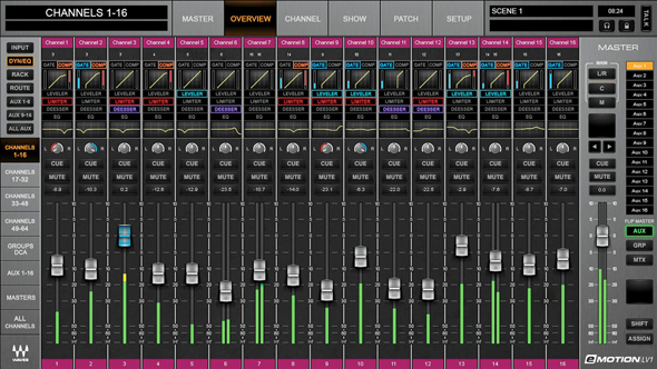 Waves Audio Announces eMotion Mixer For SoundGrid - ProSoundWeb