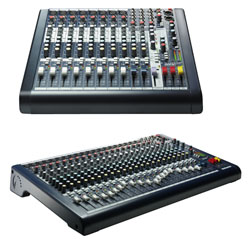 soundcraft lexicon mixers