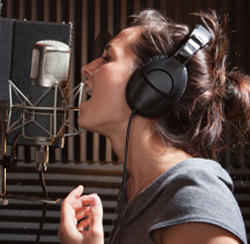 studio vocals