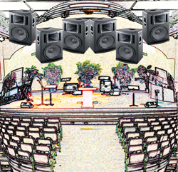 church sound loudspeakers