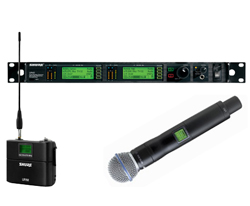 shure uhf-r wireless