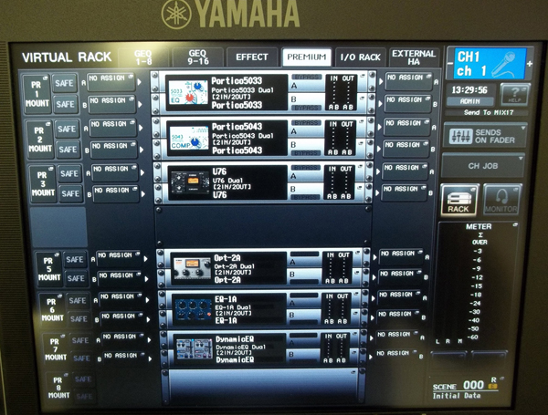 live sound road test yamaha cl series digital consoles pro sound web. Black Bedroom Furniture Sets. Home Design Ideas