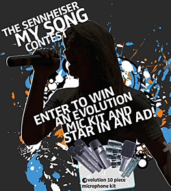 Sennheiser My Song Contest