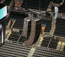 Dynamic New Sound Headed By L Acoustics At At Amp T Center In
