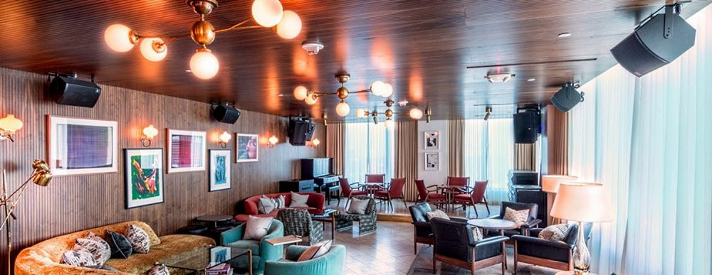 Soho House West Hollywood Outfitted With VUE Audiotechnik
