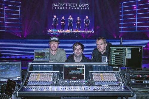 Backstreet Boys Take On Las Vegas With DiGiCo - ProSoundWeb