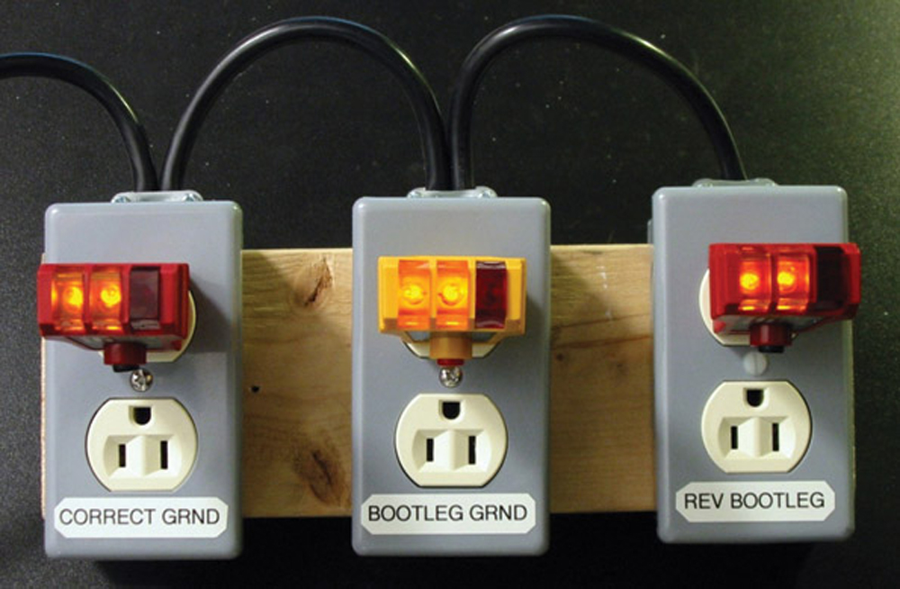 how to use outlet tester