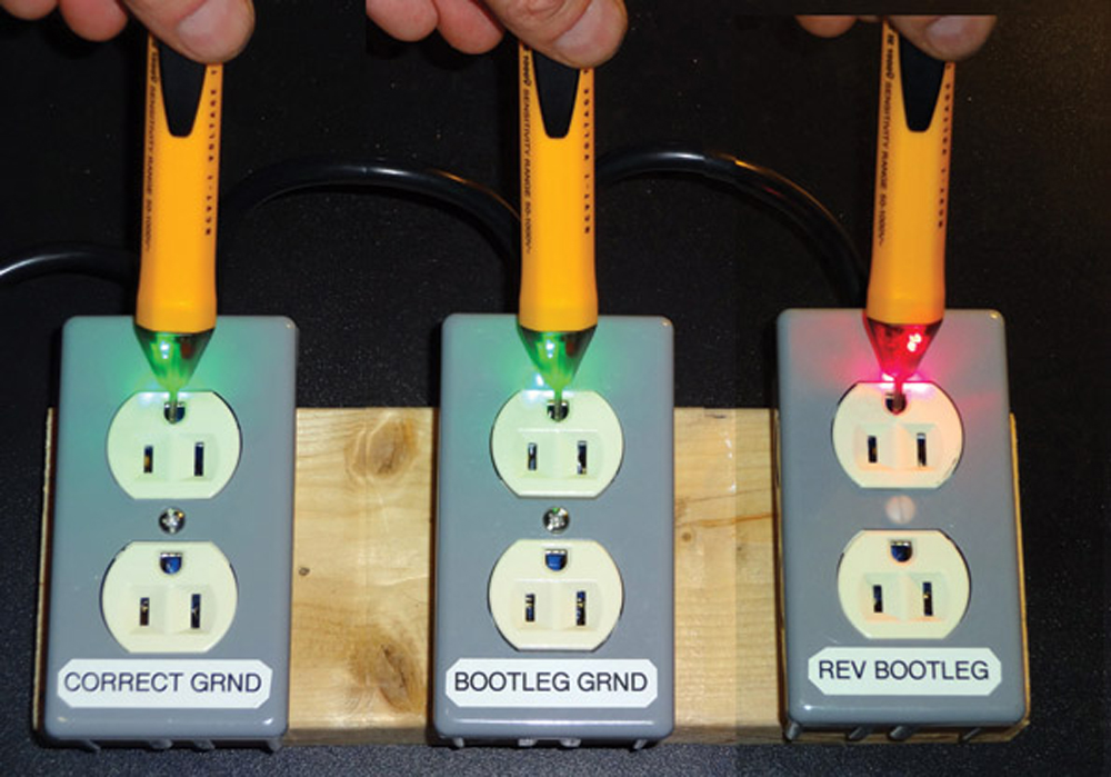 Electrical Plug Tester : Analyzing failures in ac outlet testing what it means
