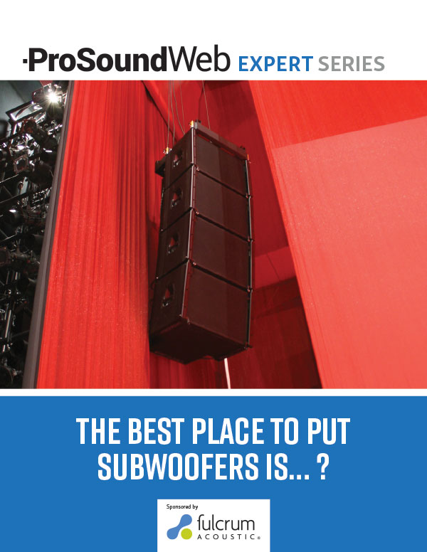 The Best Place to Put Subwoofers Is…?