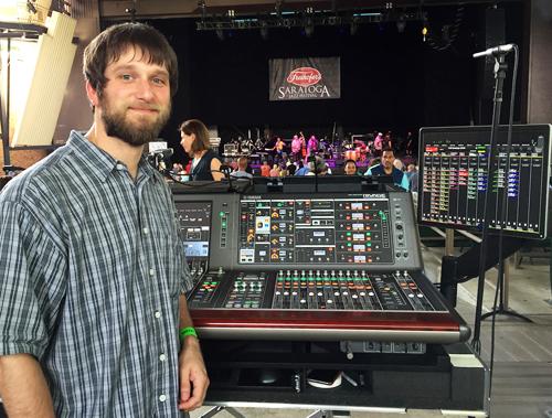 Audio Inc  Supports Saratoga Jazz Festival With Yamaha Digital