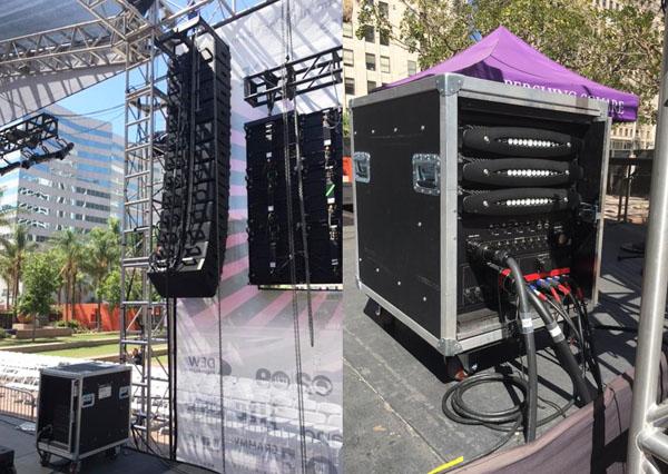 Powersoft & Bose Professional Amplify Pershing Square