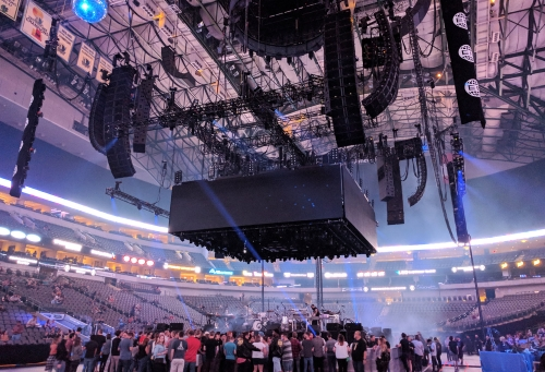 Solotech Deploys L-Acoustics AVB Touring System For Arcade