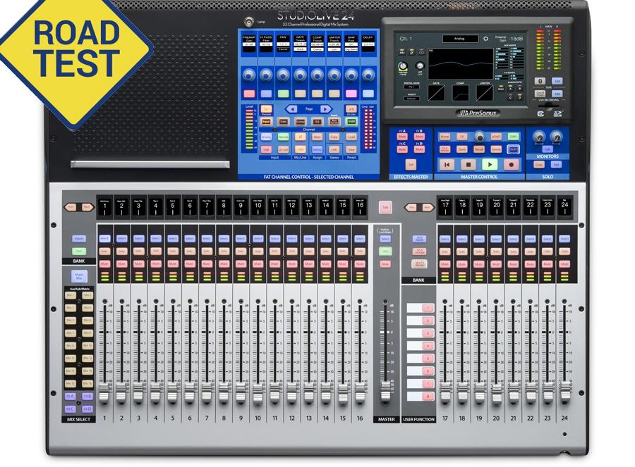 Road Test: New PreSonus StudioLive Series III Mixers In
