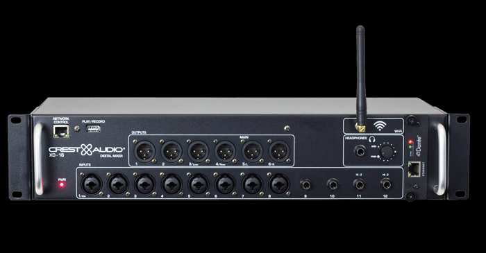 Crest Audio Debuts New XD Series Small-Format Digital Mixers At