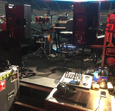 "Wix Wickens And Howard ""DJ"" Howes Choose QSC For Paul McCartney Tour"