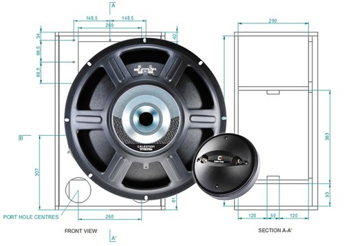 Celestion offering quality pa cabinet designs to do it yourself celestion has announced the availability of driver specific cabinet designs for do it yourself diy builders with options including the ckt tf1525e and solutioingenieria Gallery