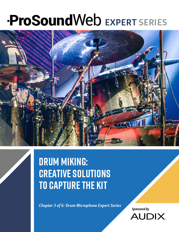 Drum Microphones: Creative Solutions To Capture The Kit