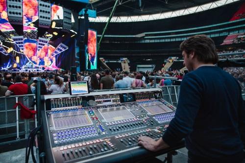 DiGiCo SD7 Unites The Sounds Of Ed Sheeran's ÷ Tour - ProSoundWeb
