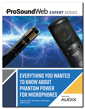 Phantom Power for Microphones Explained