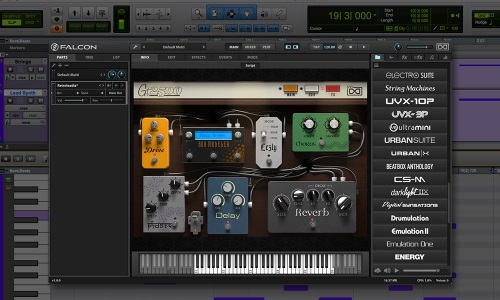 Avid Adds UVI Falcon Instruments And Libraries To Pro Tools