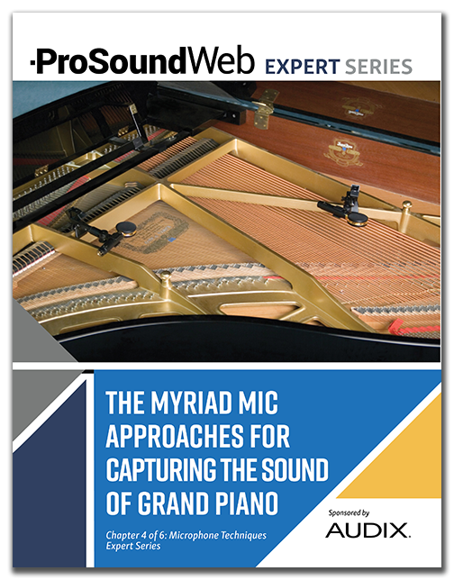 Mic Approaches for Capturing the Sound of Grand Piano