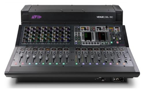 Avid Releases VENUE | S6L-16C Compact Control Surface - ProSoundWeb