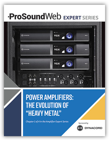 "Power Amplifiers – The Evolution of ""Heavy Metal"""