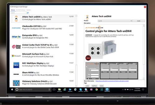 Qsc Launches Q Sys Designer Asset Manager Prosoundweb
