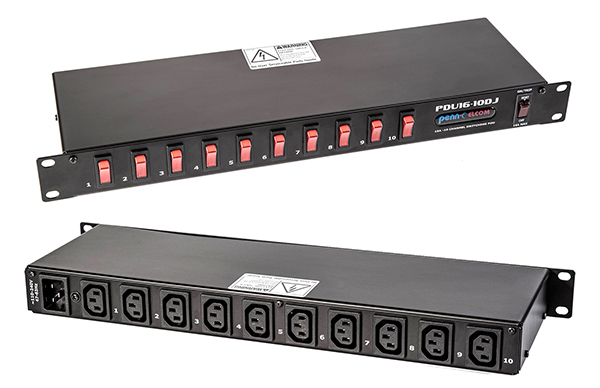 Penn Launches New Range Of Slimline Power Distribution Units Prosoundweb