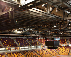Electro Voice Arrays Provide Top To Bottom Coverage At Duluth S