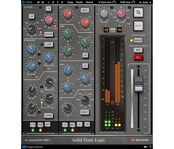 Brainworx Announces New Ssl 9000 J Series Console Plugin With 72 Different Emulations Prosoundweb