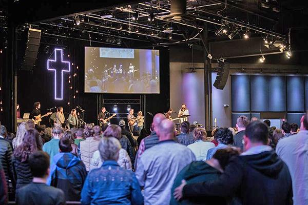 Martin Audio WPS Church