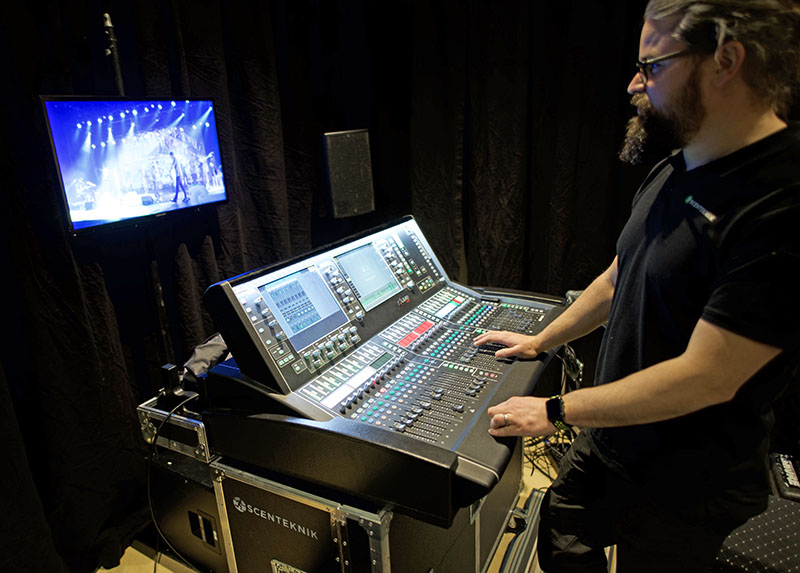 Allen & Heath Consoles Livestream