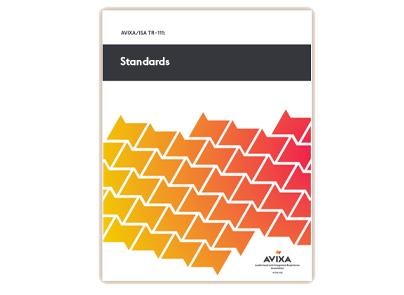 AVIXA Standards