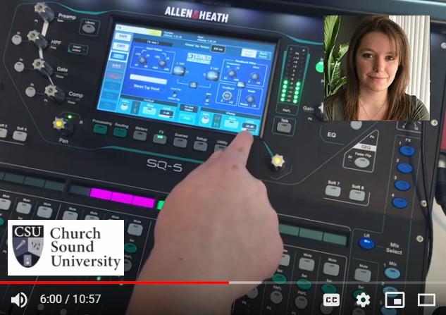 Church Sound University Tech Tips