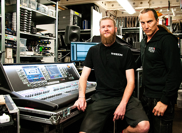 Allen & Heath dLive Streaming