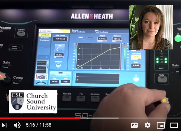 Church Sound University Tech Tips