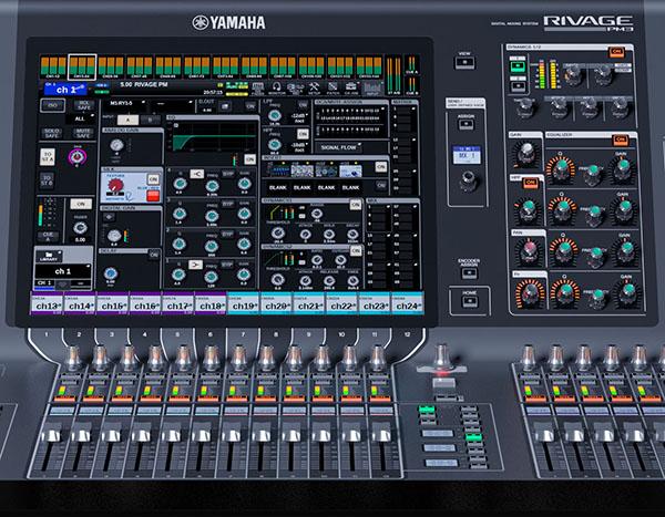 Yamaha RIVAGE Consoles