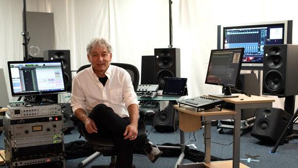 Herbert Waltl at the reimagined mediaHyperium studios.