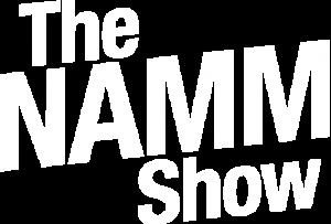 NAMM 2020 Logo_White